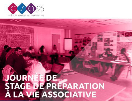 Stage de préparation à la vie associative 24 Avril et 27 Novembre 2018