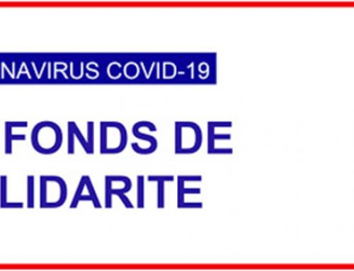 Fonds de solidarité pour une association touchée par les effets du Coronavirus
