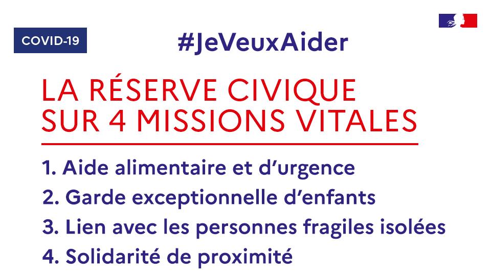 Lancement de la plateforme d'engagement Jeveuxaider.gouv.fr