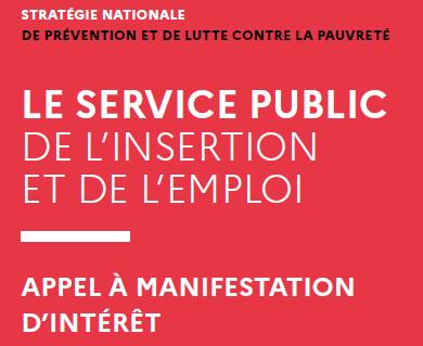 Service public de l'insertion et de l'emploi    Appel à manifestation d'intérêt